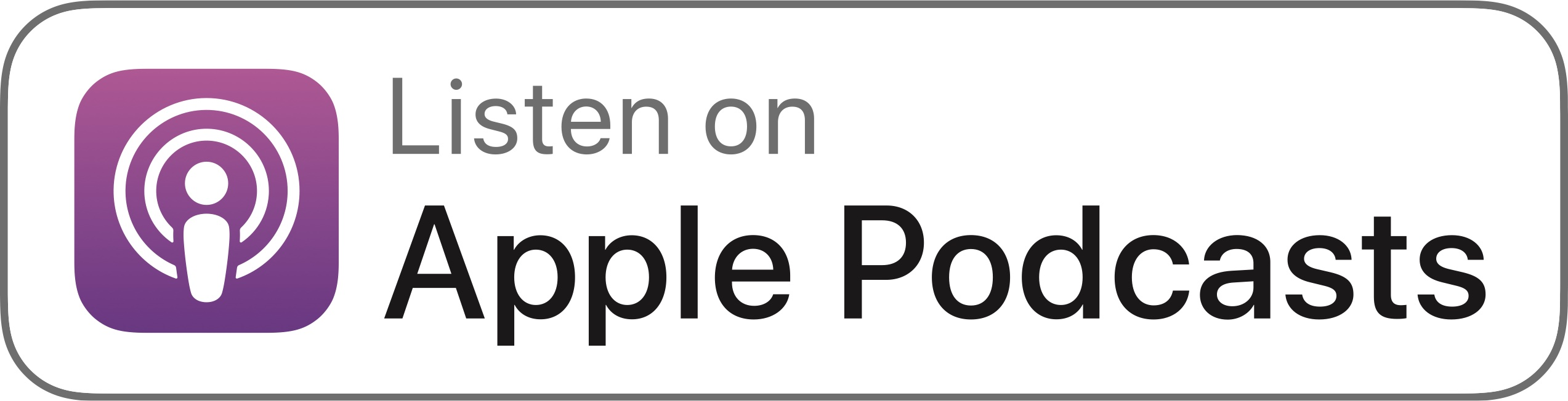 Logotipo Apple Podcast